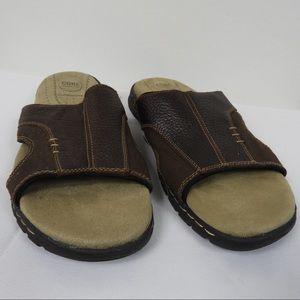 M29 Croft & barrow Brown Leather Slides